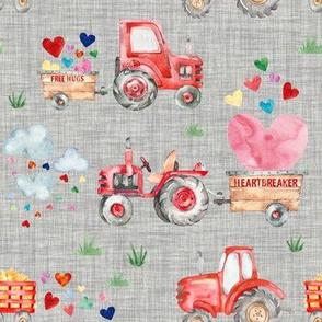 Valentine Harvest // Gray Linen
