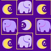 Purple Baby Elephants