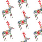 Red Nosed Flying Reindeer