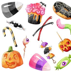 Pastel Halloween Treats