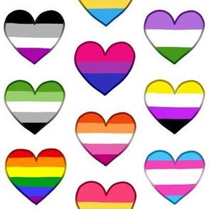Pride Hearts Medium