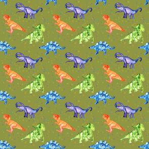 Dinosaur Party- Green