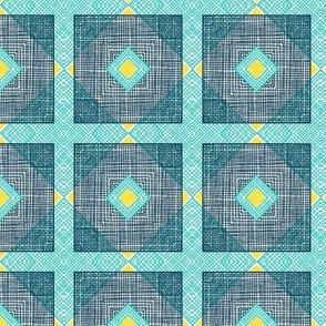 Geometric Mesh Squares, Lakeside