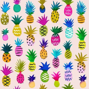 pineapple fun - blush, small