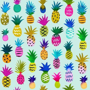 pineapple fun - mint, small