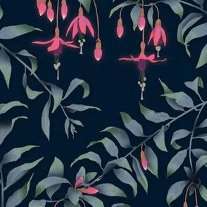 Fuscia Floral