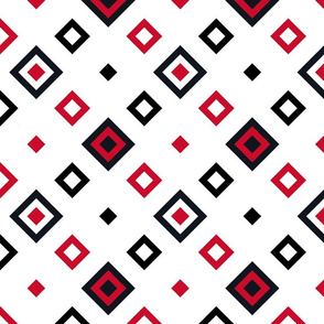Geometric red_black_white_085