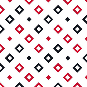 Geometric red_black_white_086