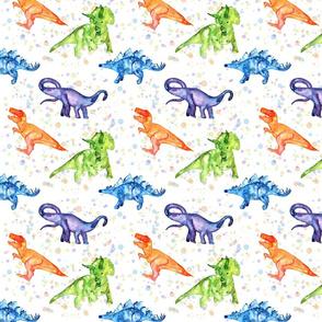 Dinosaur Party- White