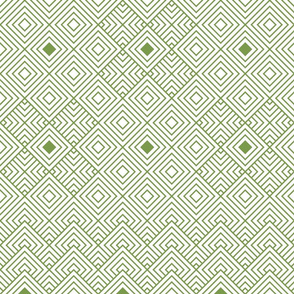 Geometric green_white 063