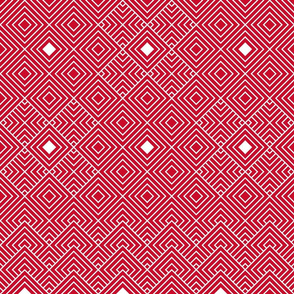 Geometric red_white 081