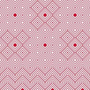 Geometric red_white 082