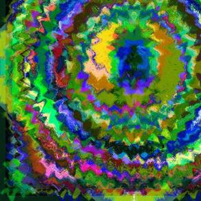 Eye of the Dragon Abstract Art JUMBO k31