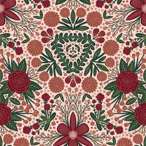Floral  Kaleidosco