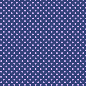 Odd Dot - Navy & Lavender.