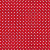 Odd Dot - True Red & Grey.