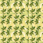leafy green leaves