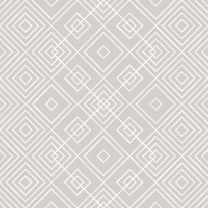 Handmade_Geometric gray_white 071