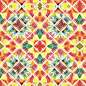Floral deco Kaleidoscope - XL