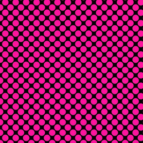 Big Pink Polka Dots