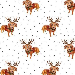 Dachshund_Reindeer