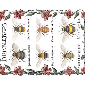 Bumblebee Teatowel