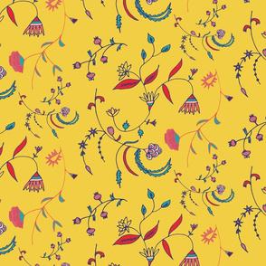 Chintz Yellow