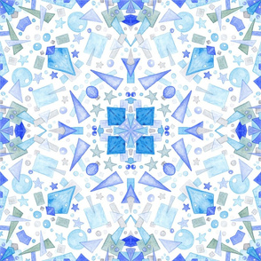 Frozen Crystal Kaleidoscope