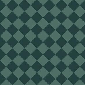 Green rhombuses