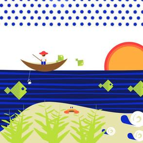 Tropical Ocean Scene
