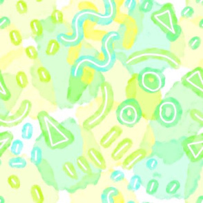 Water Doodles Kiwi Lime