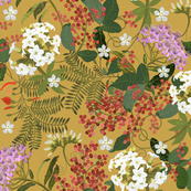 CHINTZ Vintage Gold