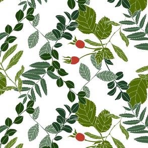 leafy chintz