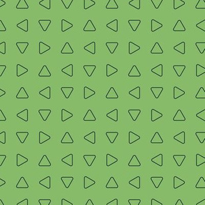 Green triangle texture pattern