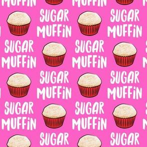 Sugar Muffin - Valentines - Pink - LAD19