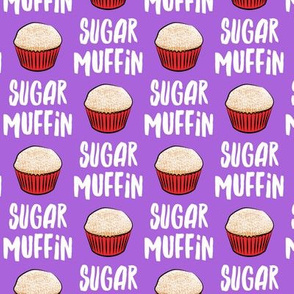 Sugar Muffin - Valentines - Purple - LAD19