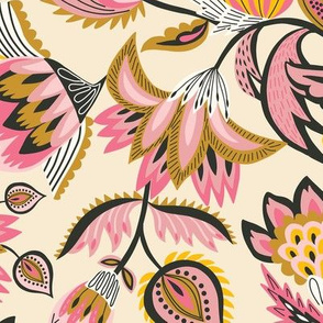 Indian Chintz Floral