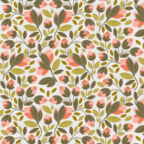 autumn shades chintz