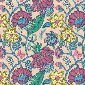 Robust Chintz Floral, tan