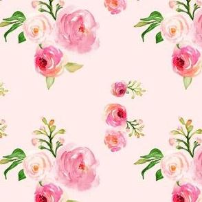 """4"""" Roses for Julie Pink Back"""