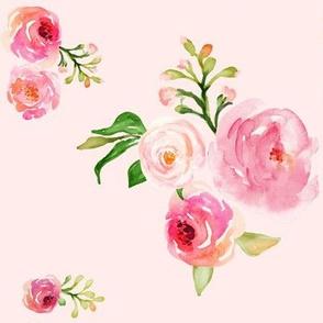 """8"""" Roses for Julie Pink Back"""