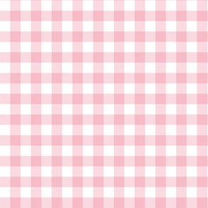 "8"" Dark Pink Gingham"