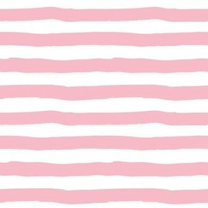 """6"""" Dark Pink Stripes"""