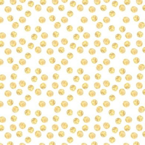 Lots of golden dots • polka dot