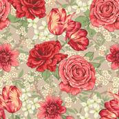 Chintz floral large