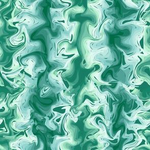 Small Swirls Turquoise