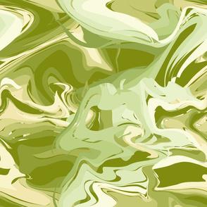 Big Swirls Green
