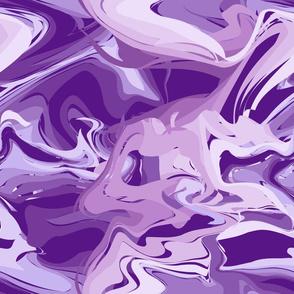 Big Swirls Purple
