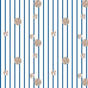 baseball toss ocean stripes 979 - on white