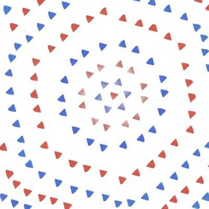 Red & Blue Triangles